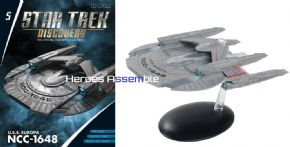 Star Trek Discovery Starships Collection #5 USS Europa NCC-1648 Starship Eaglemoss